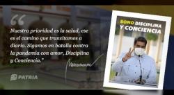 INICIA ENTREGA DEL BONO DISCIPLINA Y CONCIENCIA A TRAVÉS DEL CARNET DE LA PATRIA